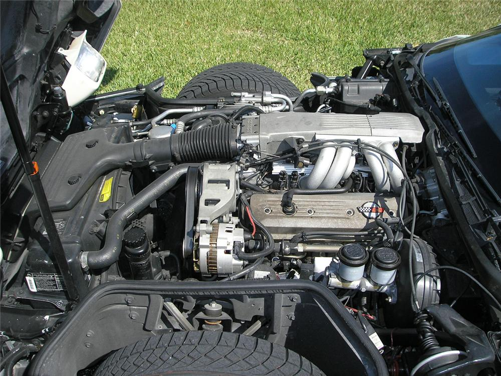 1988 CHEVROLET CORVETTE COUPE - Engine - 49973