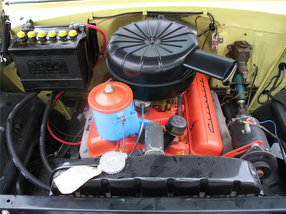 1955 CHEVROLET BEL AIR CONVERTIBLE - Engine - 50027