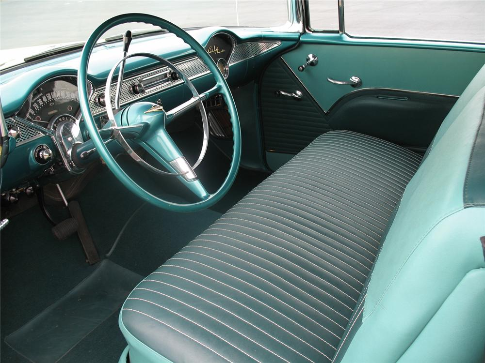 1955 CHEVROLET BEL AIR CONVERTIBLE - Interior - 50027