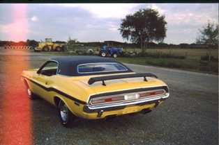 1970 DODGE CHALLENGER 2 DOOR COUPE - Rear 3/4 - 50029