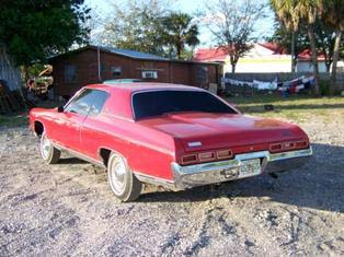 1971 CHEVROLET IMPALA 2 DOOR HARDTOP - Rear 3/4 - 50030