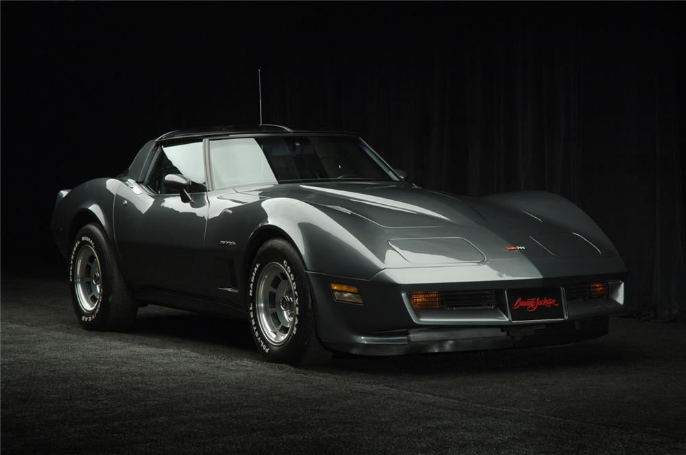 1982 CHEVROLET CORVETTE COUPE - Front 3/4 - 50032