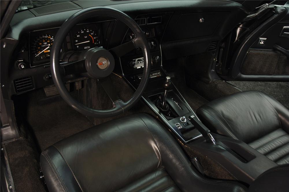 1982 CHEVROLET CORVETTE COUPE - Interior - 50032