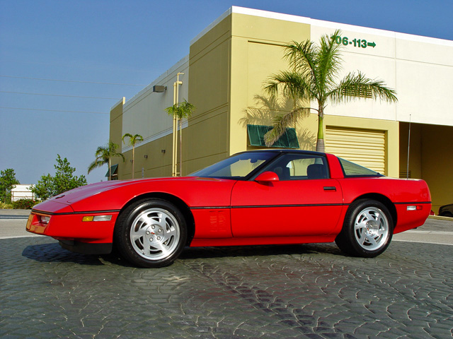 1990 CHEVROLET CORVETTE COUPE - Side Profile - 50040