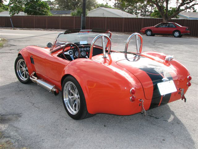 1965 SHELBY COBRA REPLICA ROADSTER - Rear 3/4 - 50041