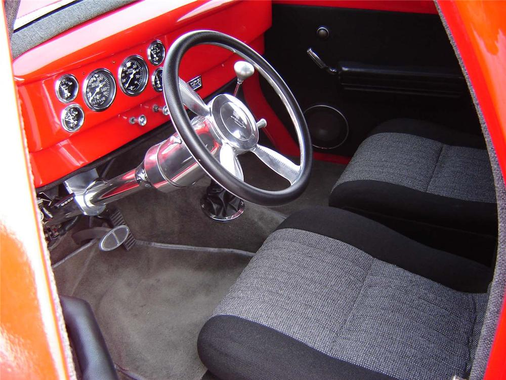 1941 WILLYS CUSTOM COUPE - Interior - 50198