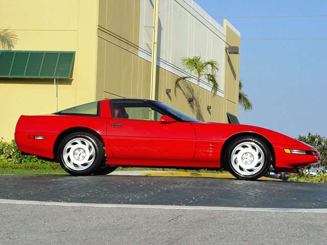 1991 CHEVROLET CORVETTE COUPE - Side Profile - 50199