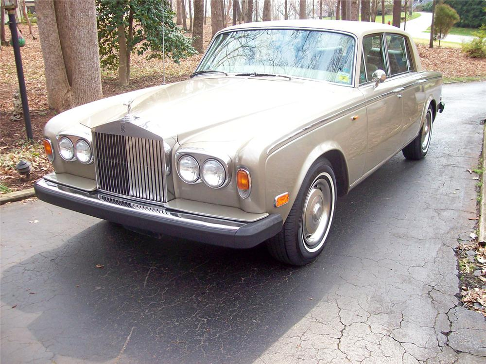 1975 ROLLS-ROYCE SILVER SHADOW 4 DOOR SEDAN - Side Profile - 50244