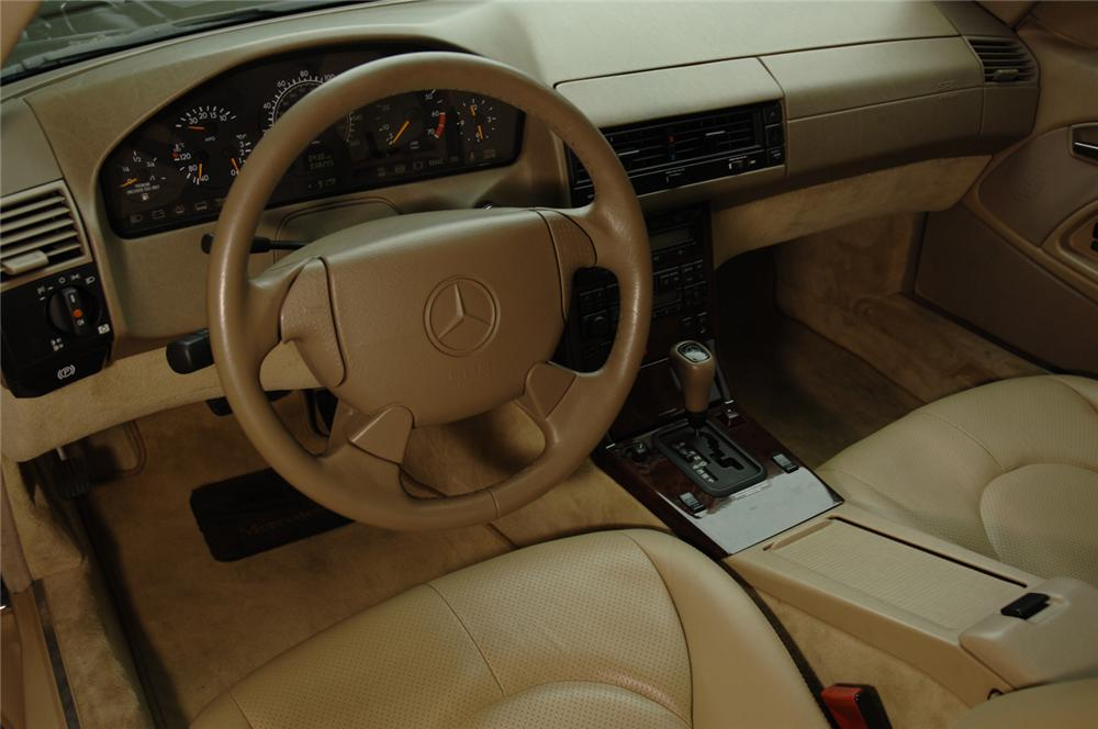 1998 MERCEDES-BENZ 500SL CONVERTIBLE - Interior - 50297