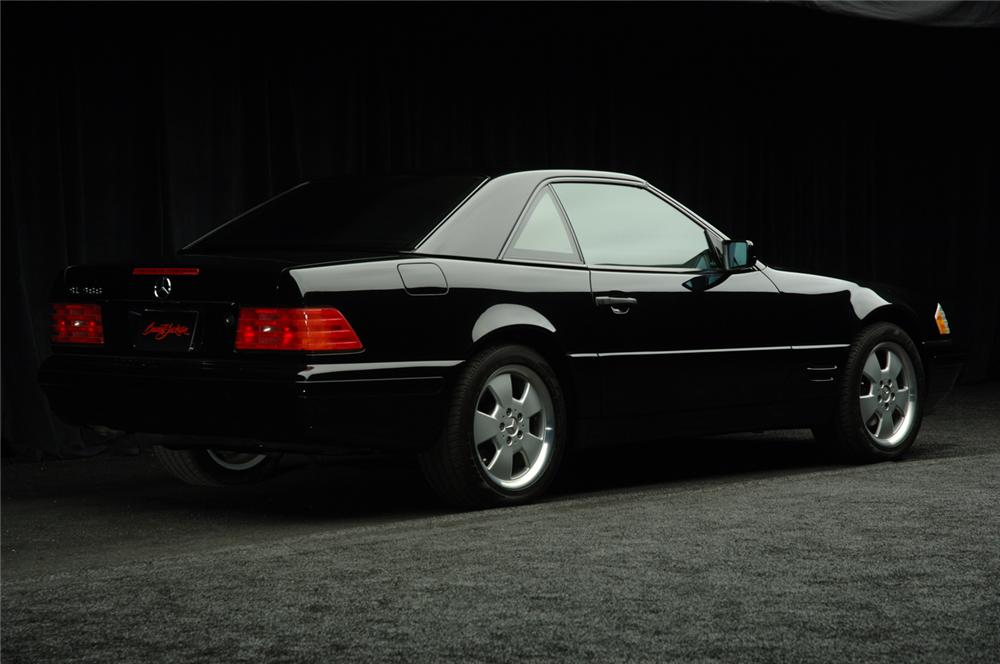 1998 MERCEDES-BENZ 500SL CONVERTIBLE - Rear 3/4 - 50297