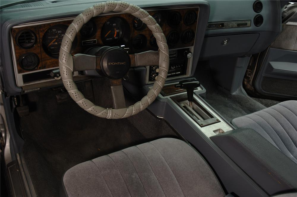1986 PONTIAC GRAND PRIX AERO COUPE 2+2 - Interior - 50517