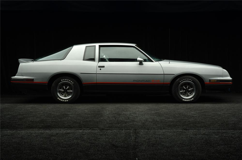 1986 PONTIAC GRAND PRIX AERO COUPE 2+2 - Side Profile - 50517