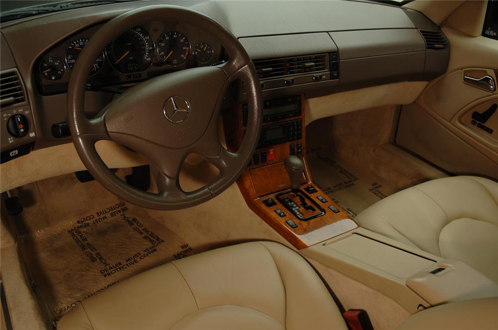 2001 MERCEDES-BENZ 500SL ROADSTER - Interior - 50587