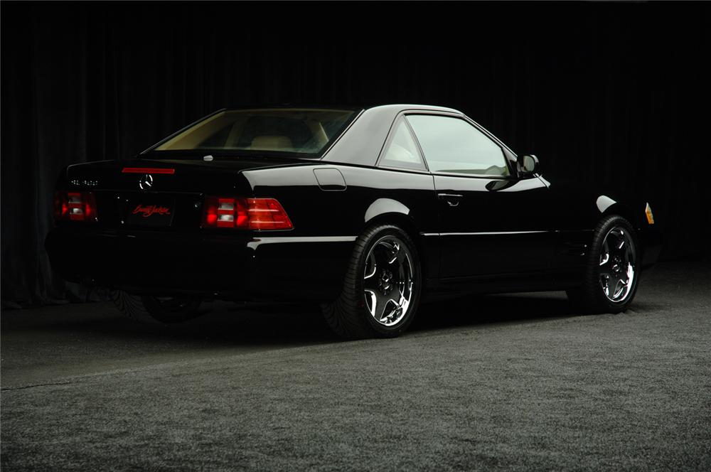 2001 MERCEDES-BENZ 500SL ROADSTER - Rear 3/4 - 50587