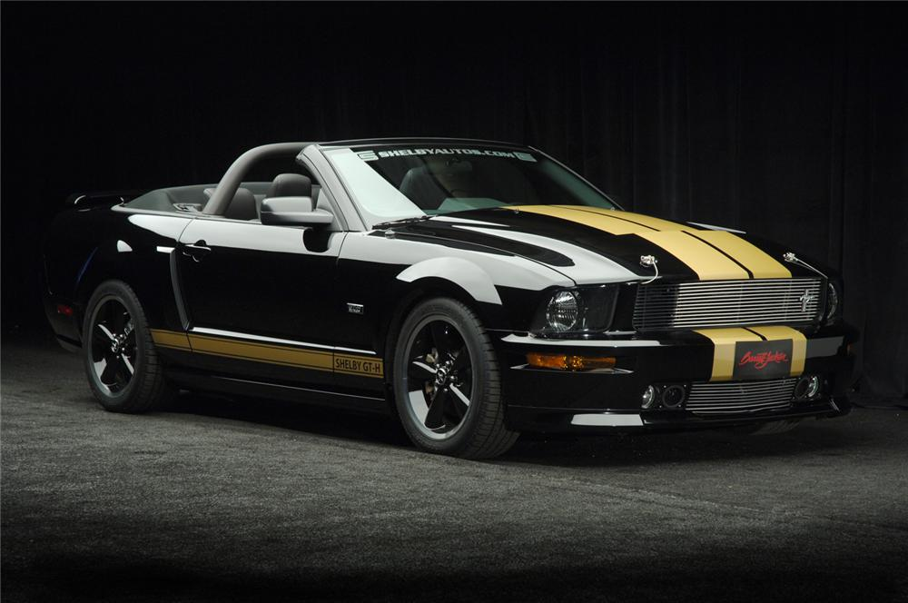 "2007 FORD SHELBY GT-H CONVERTIBLE ""FORD MYSTERY CAR"" - Front 3/4 - 50697"