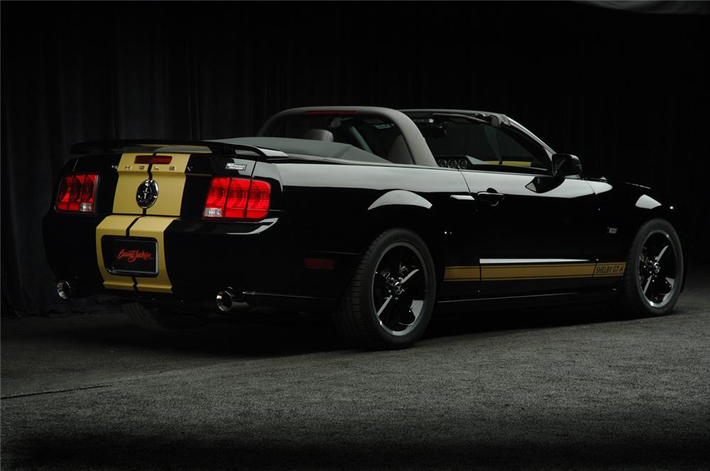 "2007 FORD SHELBY GT-H CONVERTIBLE ""FORD MYSTERY CAR"" - Rear 3/4 - 50697"