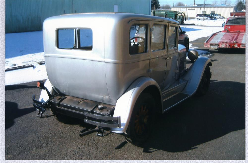 1928 DODGE 4 DOOR HARDTOP - Rear 3/4 - 50742