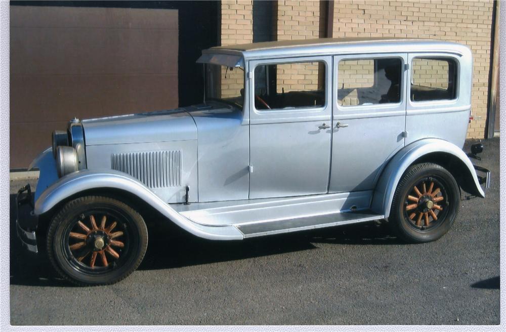 1928 DODGE 4 DOOR HARDTOP - Side Profile - 50742