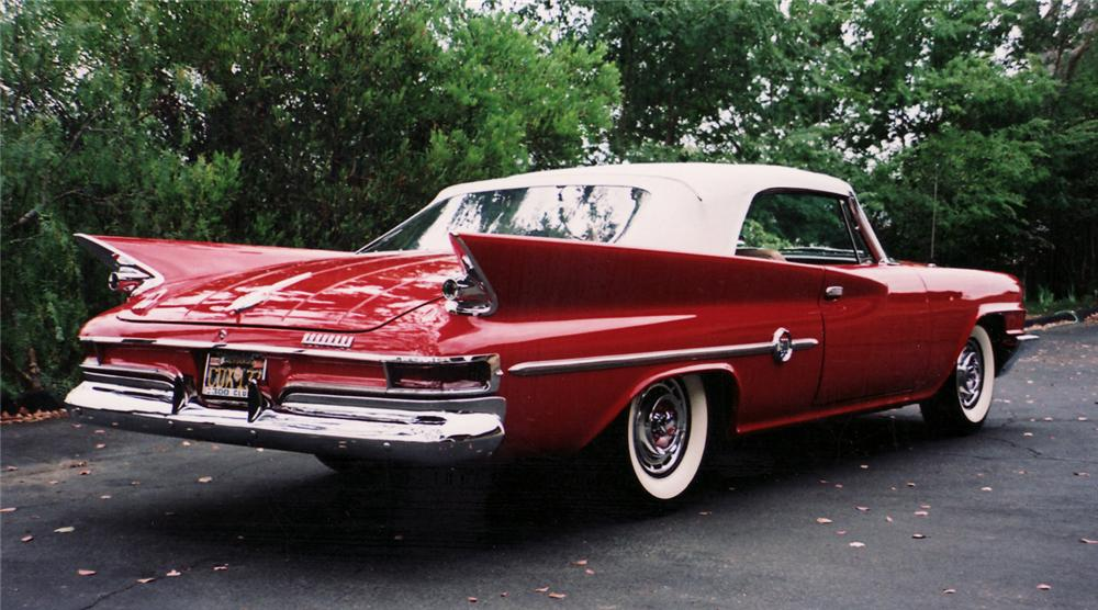 1961 CHRYSLER 300G CONVERTIBLE - Rear 3/4 - 60513
