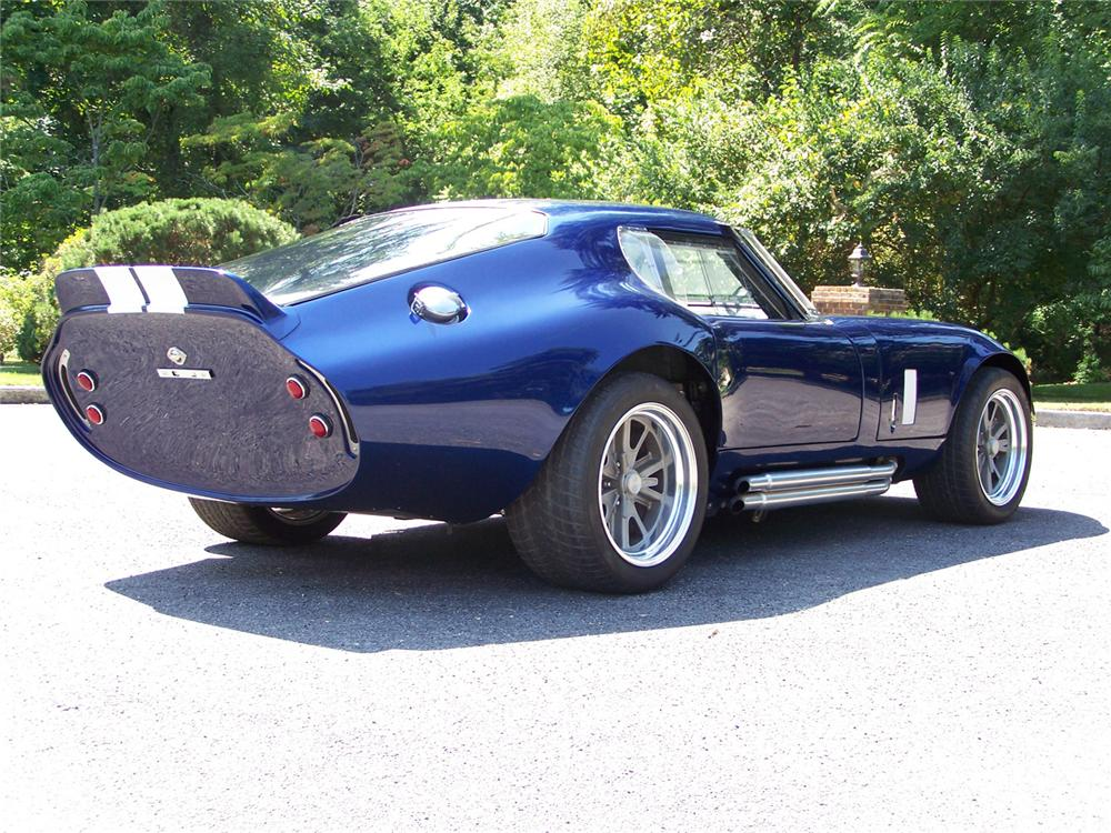 1965 SHELBY DAYTONA COUPE RE-CREATION - Front 3/4 - 60557
