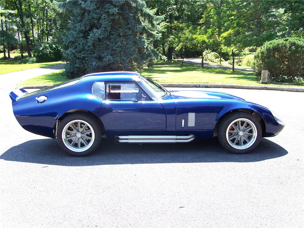1965 SHELBY DAYTONA COUPE RE-CREATION - Side Profile - 60557