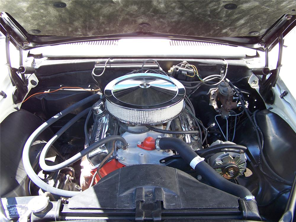 1967 CHEVROLET CAMARO SS INDY PACE CAR RE-CREATION - Engine - 60558