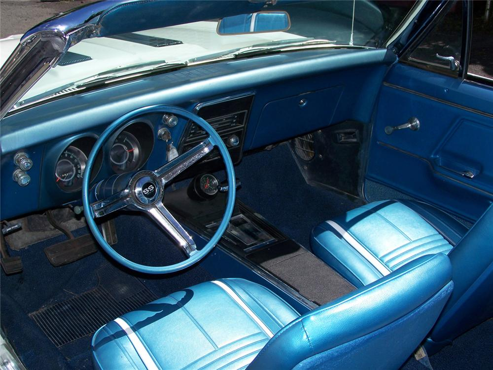 1967 CHEVROLET CAMARO SS INDY PACE CAR RE-CREATION - Interior - 60558