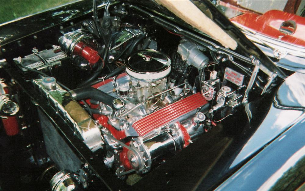 1957 CHEVROLET BEL AIR CONVERTIBLE - Engine - 60566