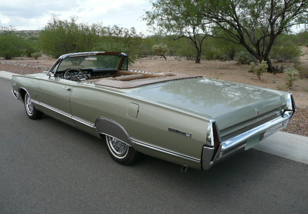 1967 MERCURY PARKLANE CONVERTIBLE - Rear 3/4 - 60577