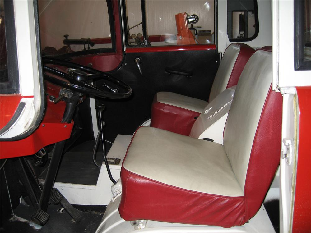 1959 WILLYS FC150 PICKUP - Interior - 60578