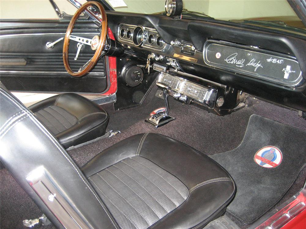 1966 SHELBY GT350 H COUPE - Interior - 60589