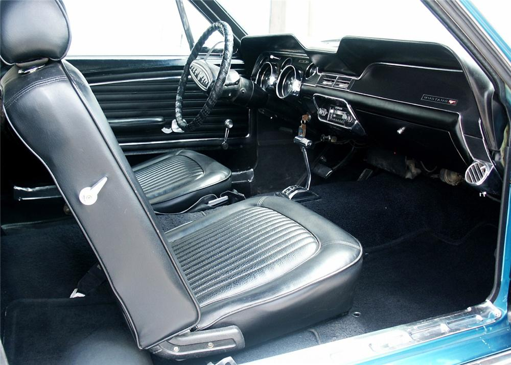 1968 ford mustang coupe 60598. Black Bedroom Furniture Sets. Home Design Ideas