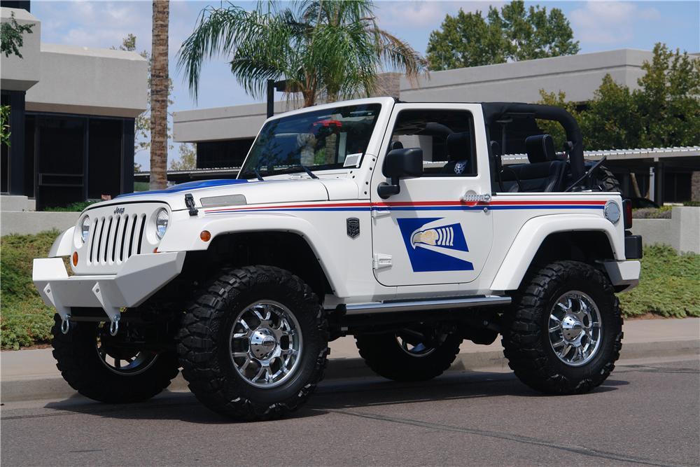2008 Jeep Wrangler Custom Us Mail Tribute