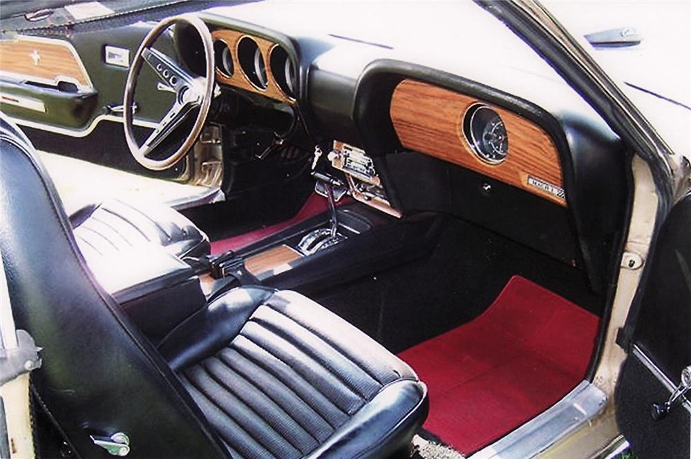 1969 FORD MUSTANG MACH 1 FASTBACK - Interior - 60613