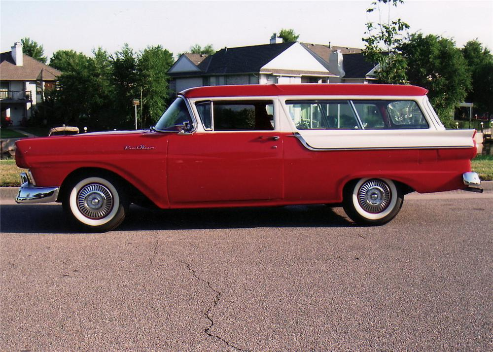 1957 ford ranch wagon 2 door wagon 60616