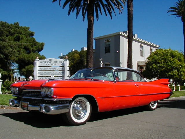 1959 CADILLAC SERIES 62 COUPE HARDTOP - Front 3/4 - 60620