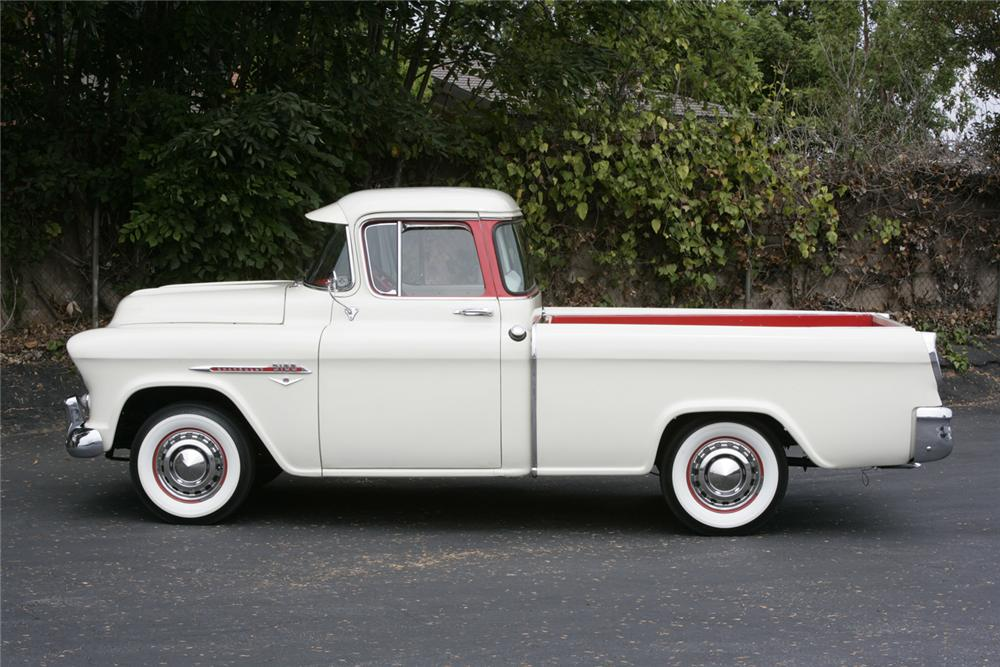 1955 CHEVROLET CAMEO PICKUP - Side Profile - 60635