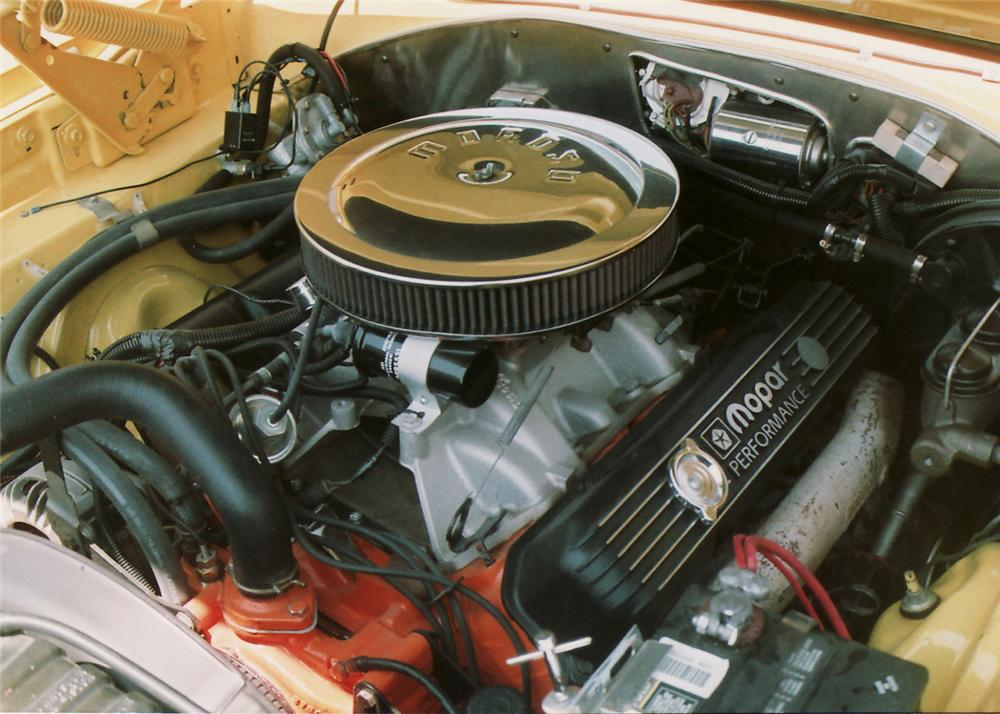 1967 PLYMOUTH GTX 2 DOOR - Engine - 60642
