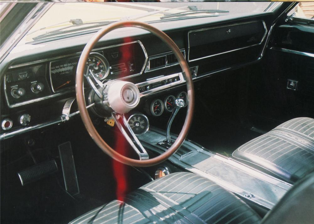 1967 PLYMOUTH GTX 2 DOOR - Interior - 60642
