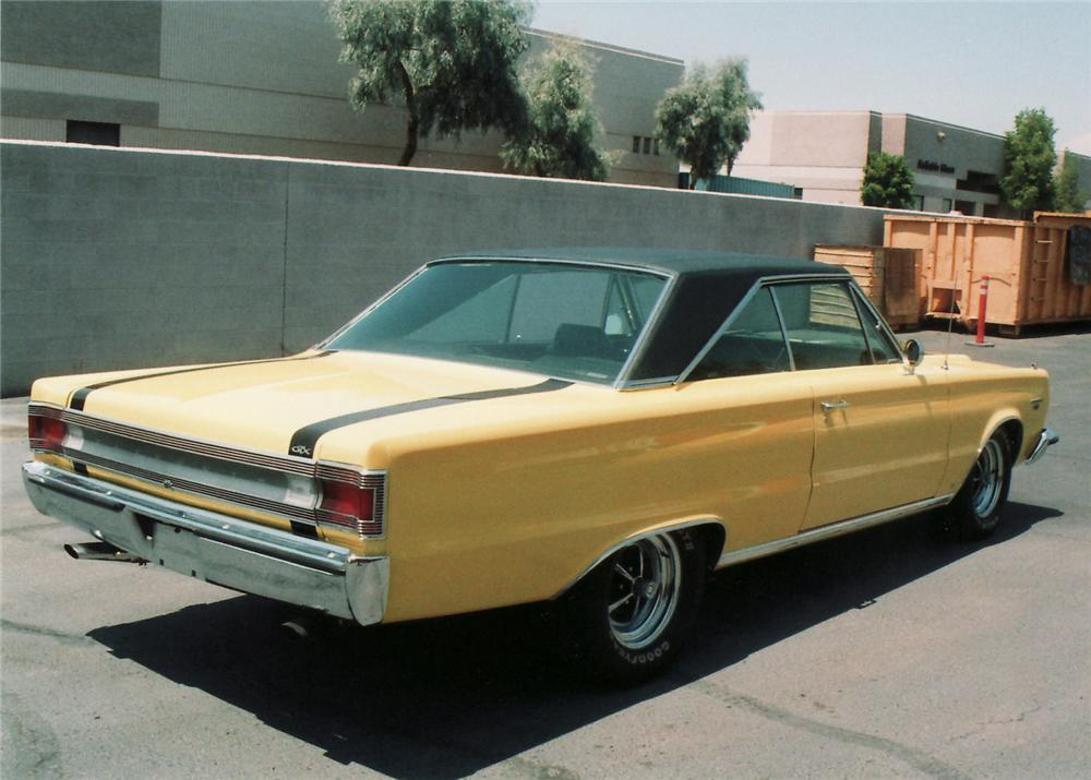 1967 PLYMOUTH GTX 2 DOOR - Rear 3/4 - 60642
