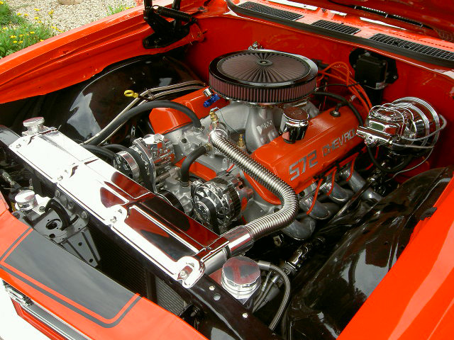 1969 CHEVROLET CHEVELLE SS 2 DOOR - Engine - 60644