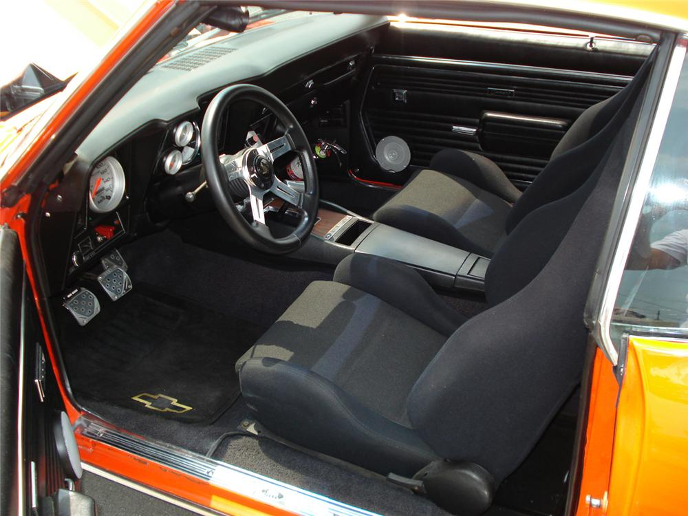 1969 CHEVROLET CAMARO 2 DOOR COUPE - Interior - 60655