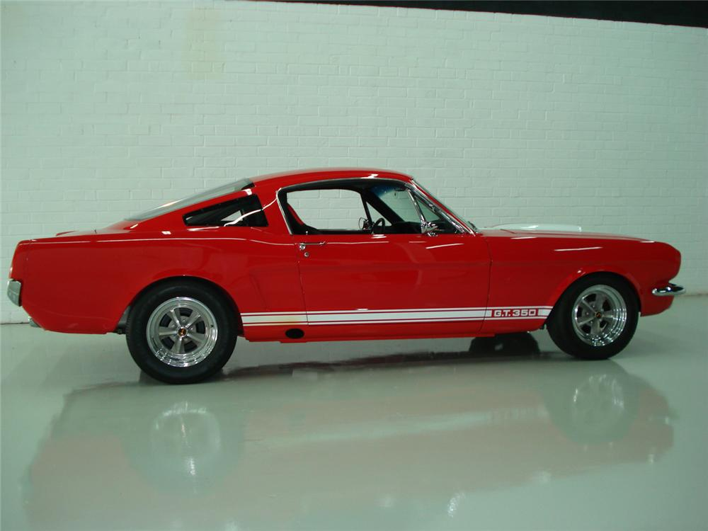 1965 SHELBY GT350 FASTBACK RE-CREATION - Front 3/4 - 60657