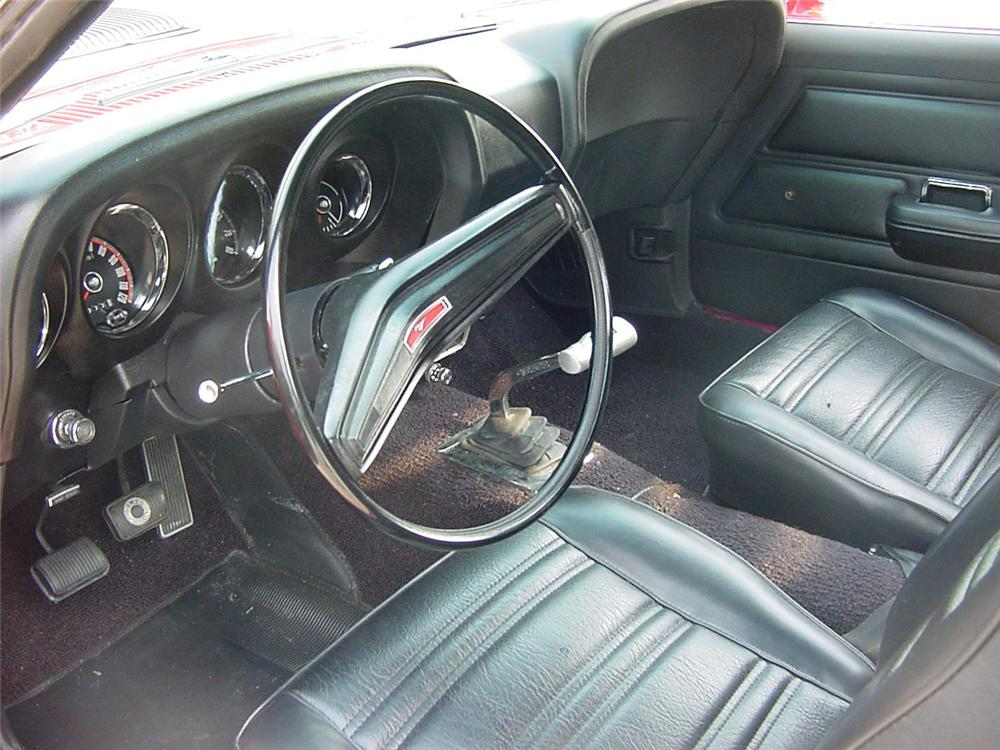 1970 FORD MUSTANG BOSS 302 2 DOOR COUPE - Interior - 60660