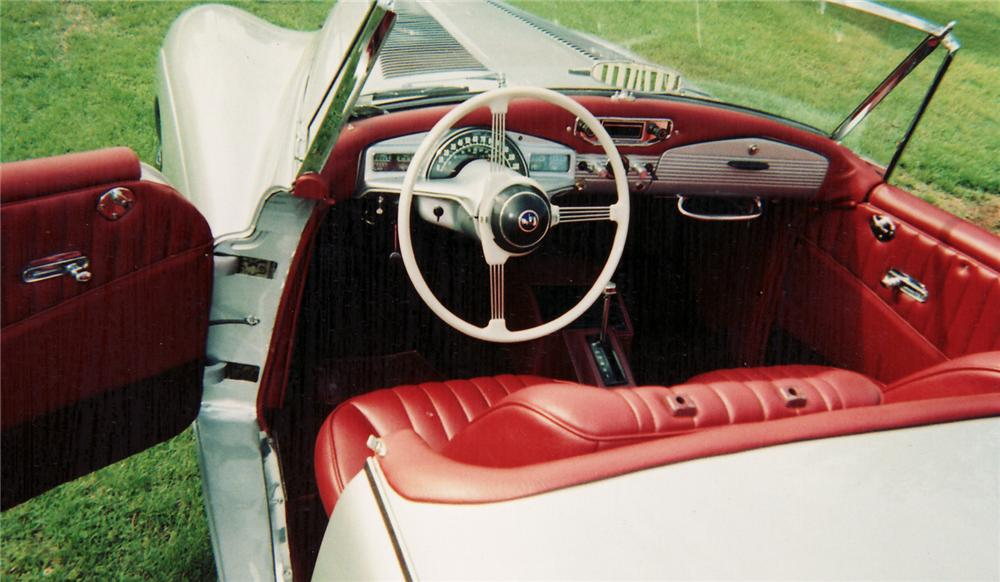 1954 SUNBEAM ALPINE ROADSTER CUSTOM - Interior - 60672