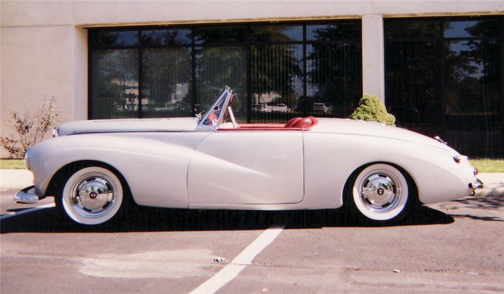 1954 SUNBEAM ALPINE ROADSTER CUSTOM - Side Profile - 60672