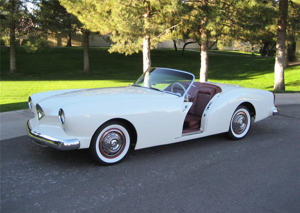 1954 KAISER-DARRIN CONVERTIBLE - Side Profile - 60673