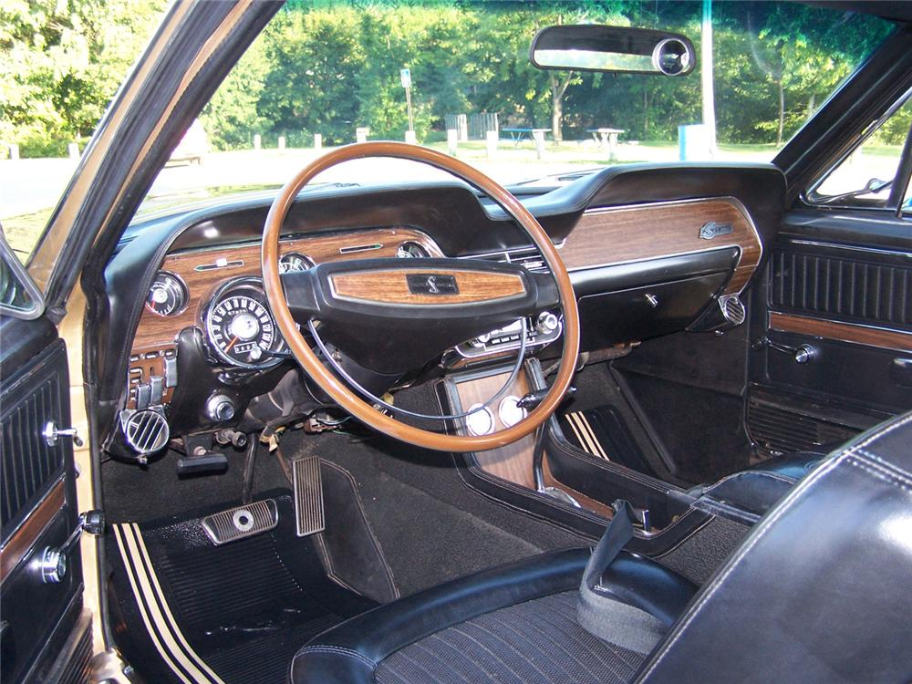 1968 SHELBY GT350 FASTBACK - Interior - 60683