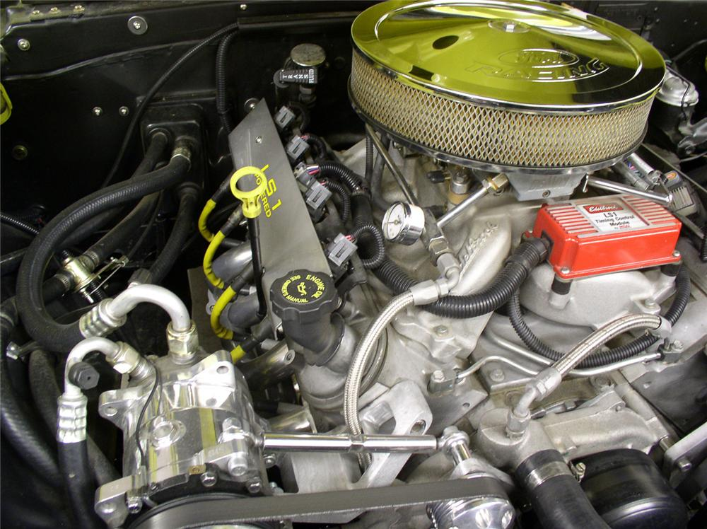 1956 FORD F-150 PICKUP - Engine - 60690