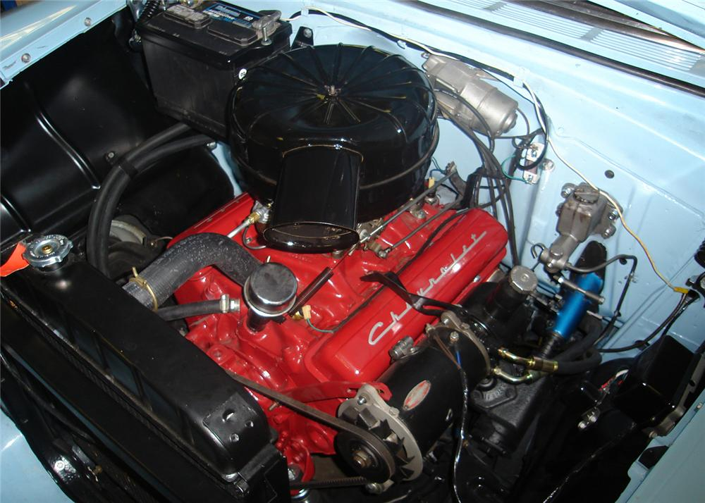 1956 CHEVROLET BEL AIR CONVERTIBLE - Engine - 60702